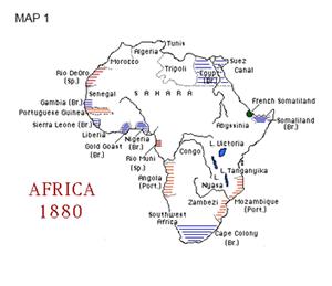 Africa Map Comparison.Africa